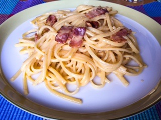 Bacon-Egg-Pasta