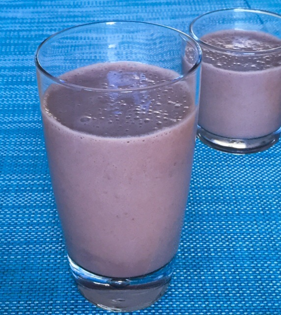 Chocolate Soy Banana Smoothie