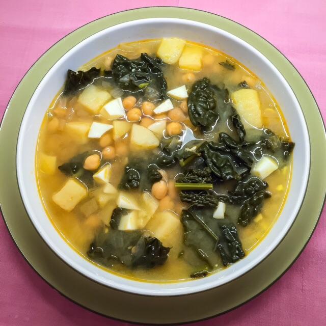 Chickpea-Kale-Soup