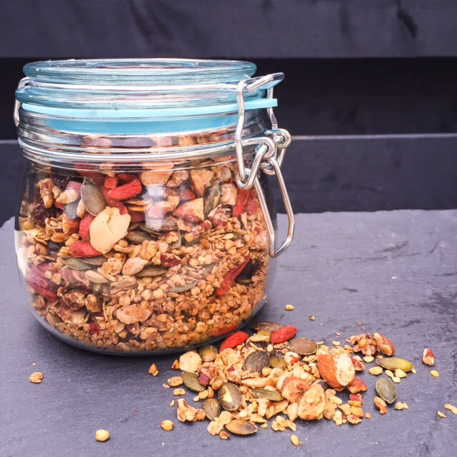 Buckwheat-Hemp-Granola