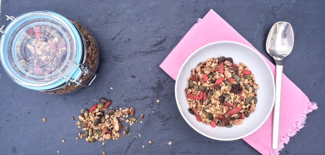 Hemp-Buckwheat-Granola